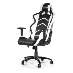 AKRacing Player Gaming Chair (Black/White) AK-K6014-BW