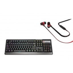 Ozone Strike X30 Mechanical Keyboard + TRIFX in-ear